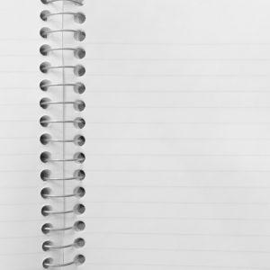 coil binder blank love note - ned tobin